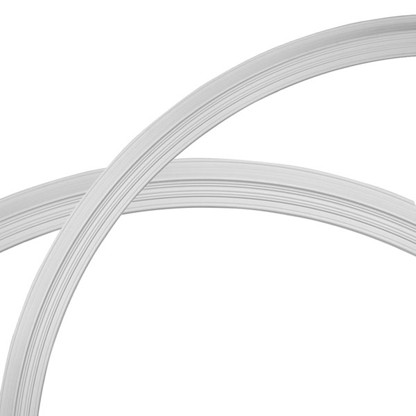 "87 1/2""OD x 79 1/4""ID x 4 1/8""W x 1 1/2""P Legacy Ceiling Ring (1/4 of complete circle)"
