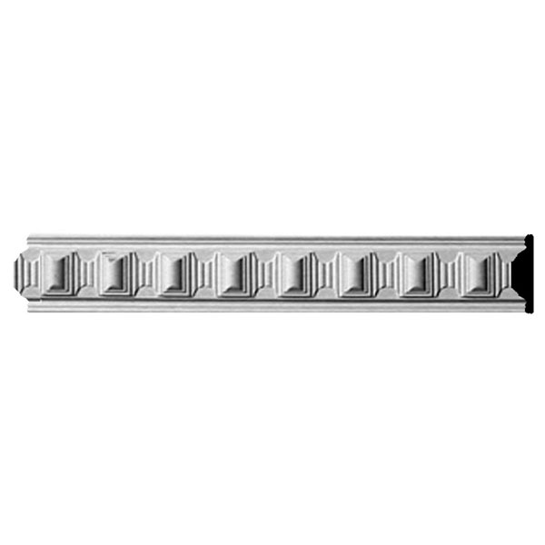 "2 3/8""H x 5/8""P, 94 1/2""L, (1 7/8"" Repeat), Carrillo Chair Rail"