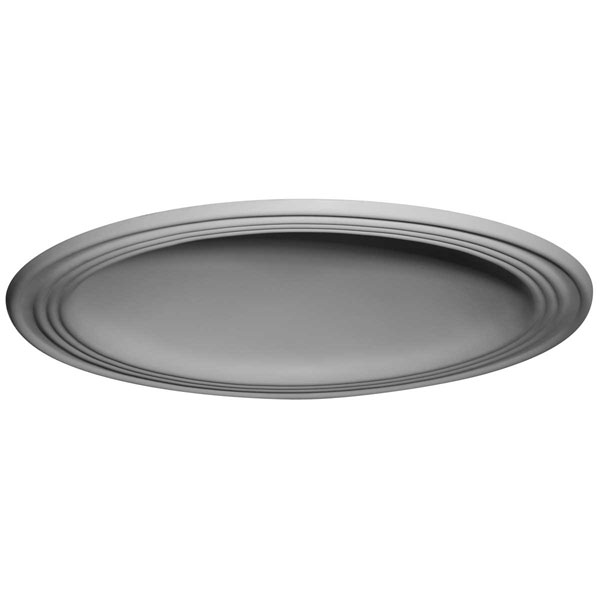 "28""OD x 22 1/2""ID x 4 5/8""D, 2 3/4""W Trim, Traditional Ceiling Dome (24""Diameter x 4 1/2""D Rough Opening)"