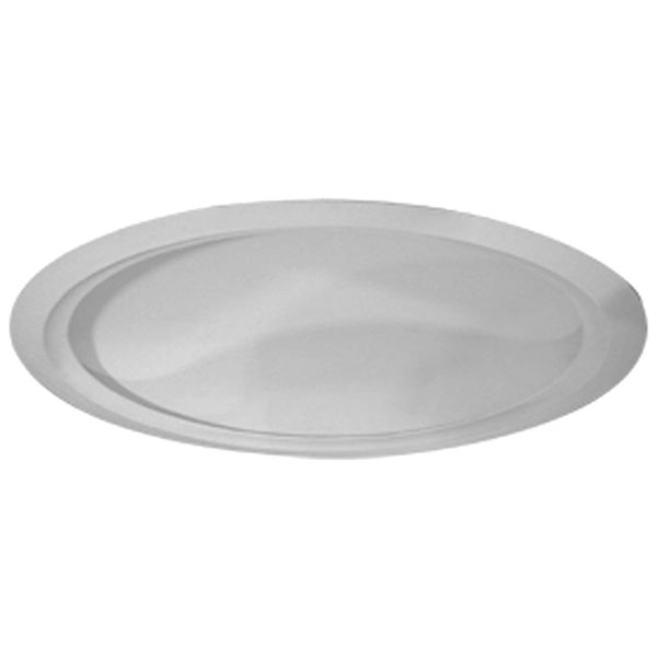 """63 5/8""""OD x 59 1/2""""ID 13 3/8""""D Artisan Ceiling Dome with Light Ring (62""""Diameter x 13 3/8""""D Rough Opening)"""