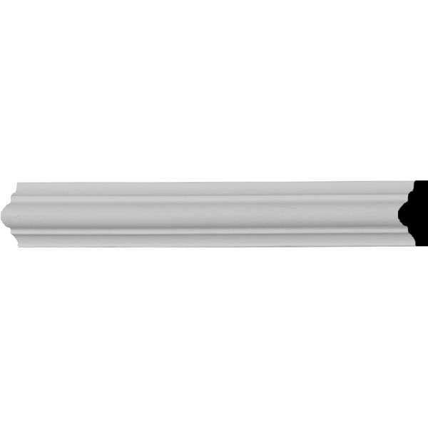 "7/8""H x 5/8""P x 94 1/2""L Bradford Smooth Panel Moulding"