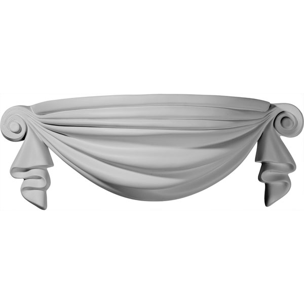 "19 1/2""W x 7 5/8""D x 6 5/8""H, Ribbon Wall Sconce"