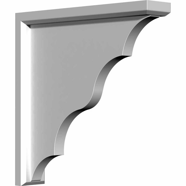 "2 5/8""W x 14 1/2""D x 14 3/8""H Traditional Bracket"