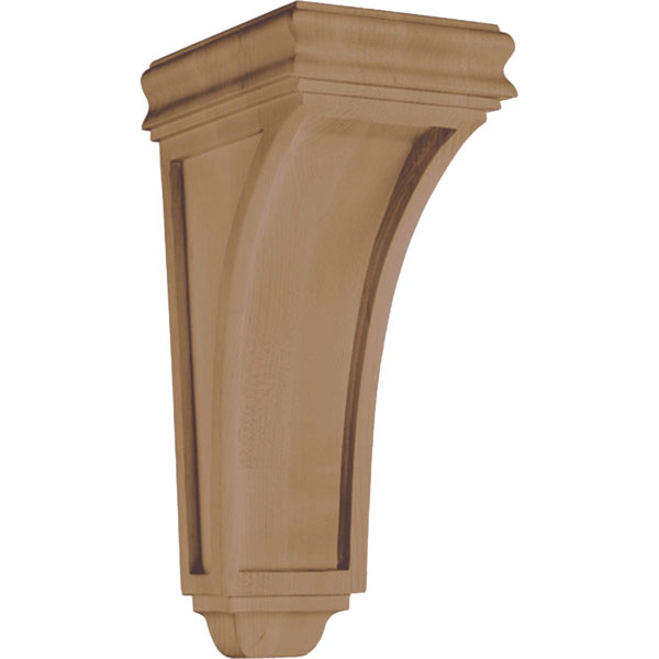 "5 3/4""W x 14""H x 7 3/8""D Corbel American Arts and Crafts Concave Medium"