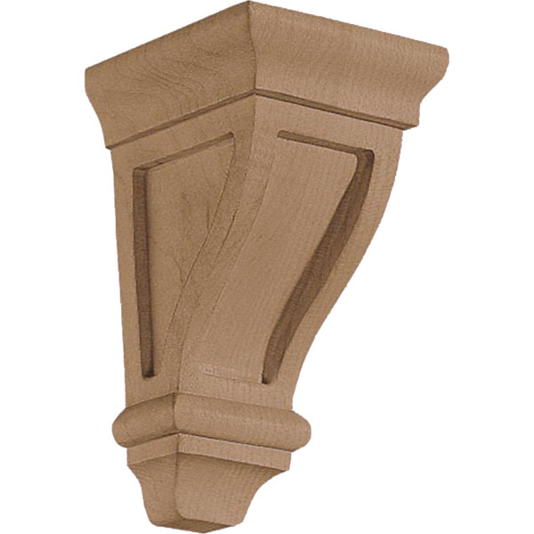 "2 5/8""W x 4 1/2""H x 2 3/4""D Corbel American Arts and Crafts Extra Mini"