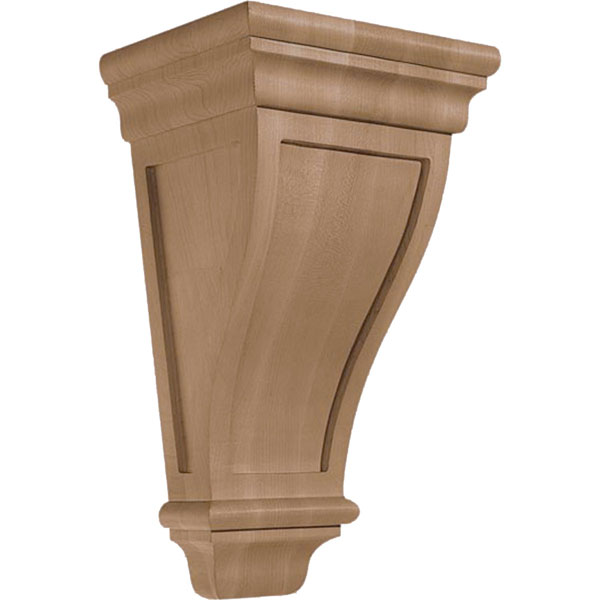 "8 1/8""W x 14""H x 6 1/4""D Corbel American Arts and Crafts Medium Wide"