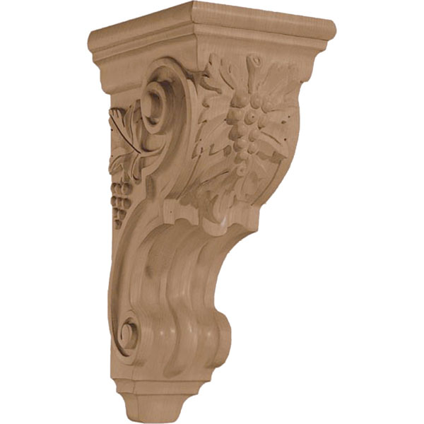 "5 3/4""W x 14""H x 7 3/8""D Corbel Grape Medium"