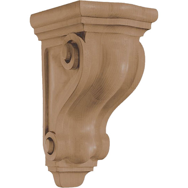 "4 3/4""W x 9 1/2""H x 5 3/4""D Corbel Traditional Small"