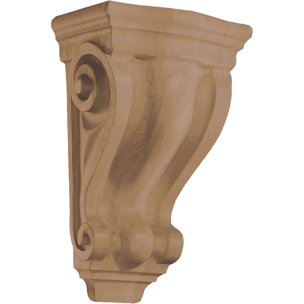 "8 1/4""W x 14""H x 6 3/8""D Corbel Traditional Wide Medium"