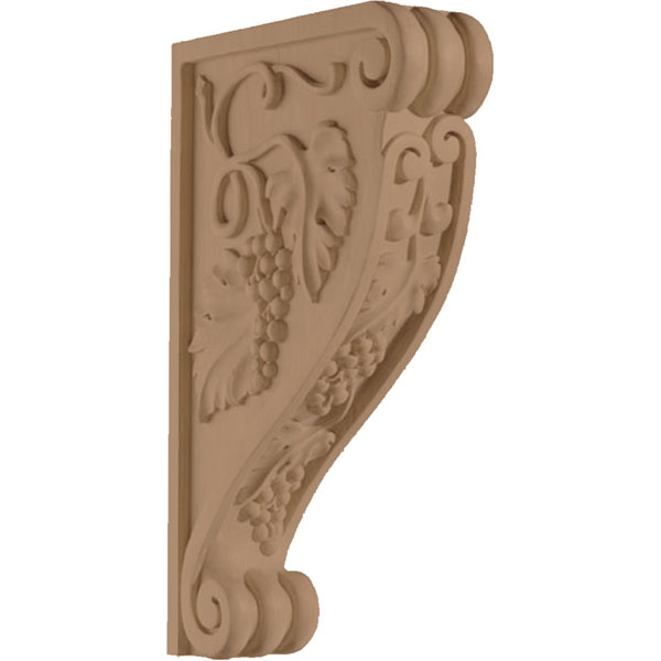 "2 1/2""W x 14""H x 8 1/2""D Corbel Villa Grape"
