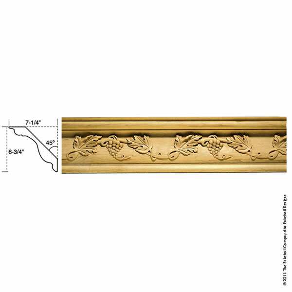Enkeboll designs enkeboll designs mld gc9 6 3 4 inch w x 7 for 9 inch crown molding