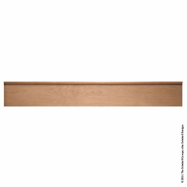 "7 7/8""H x 2""P Mantel Extension Villa, 4' Length"