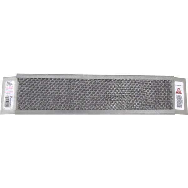 "3 1/2""H x 14""W (24 Sq. In. Venting Area) Vulcan Fire Stopping Eave Vent, Galvanized Steel"