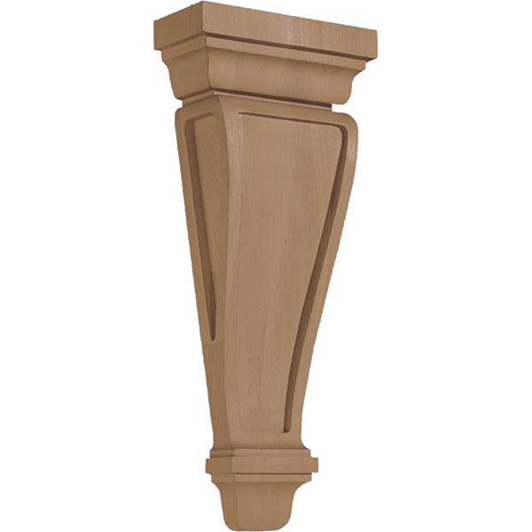 "6 1/4""W X 2 1/2""D X 14 5/8""H Corbel American Arts & Crafts Pilaster Medium"