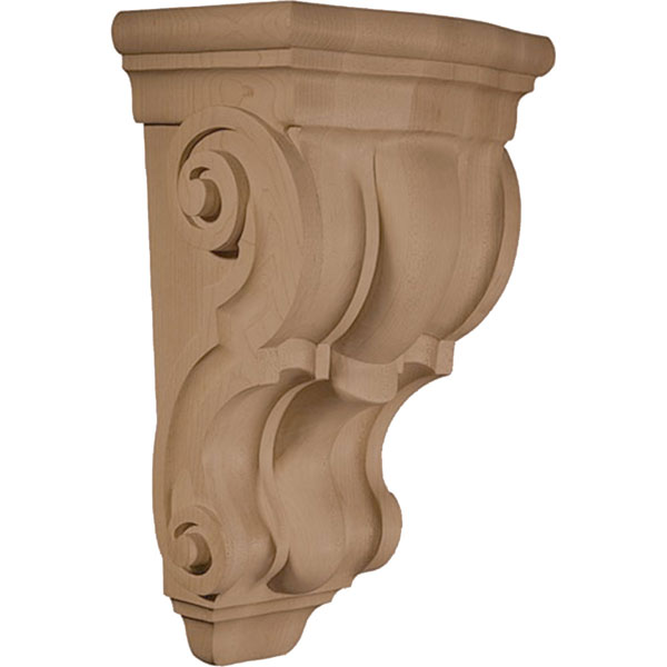 "8 1/8""W X 6 3/8""D X 14""H Corbel Plain Wide Medium"