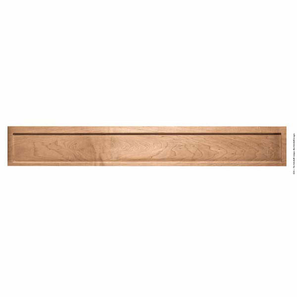 "4' Long X 7""H X 1 1/4""Thick Mantel American Arts & Crafts Fascia Extension 4'"