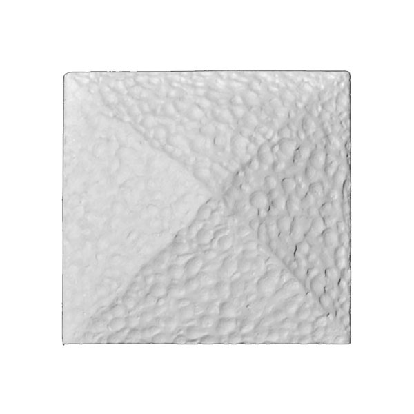 "Approx. 1-1/8"" x 1-1/8"" x 5/8"" Square hand peened pillow block. Sized to fit corner of PANL-206."