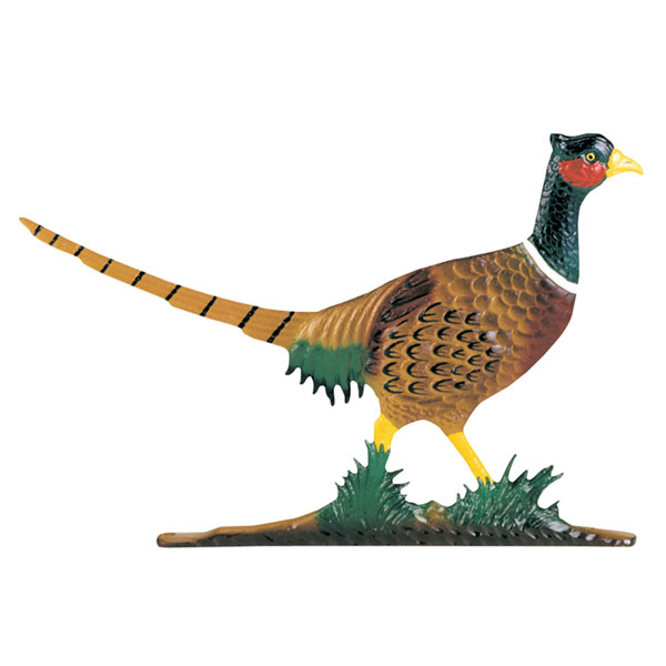 "13 1/2""W x 8 3/4""H with 8"" Bell Large Bell with Pheasant, Color"