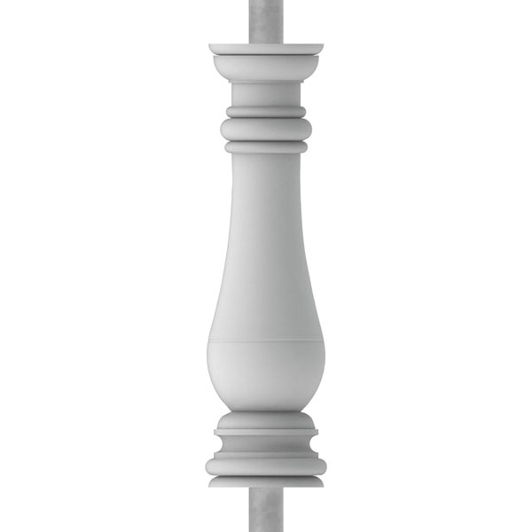 "FiberThane®: Bradford Baluster (6 7/8"" On-Center-Spacing to Pass 4"" Sphere Code)"