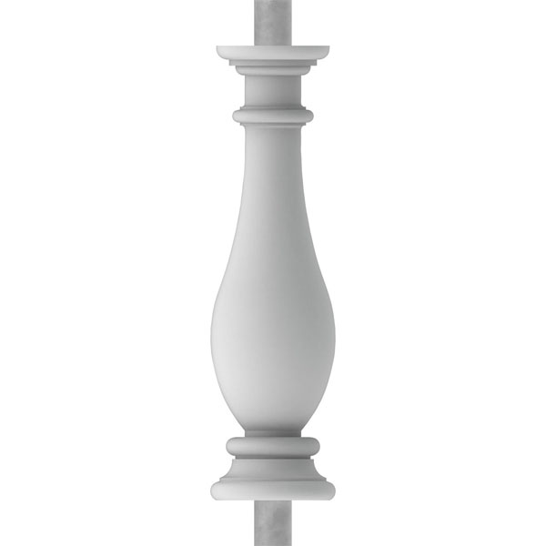 """FiberThane®: Legacy Baluster (6 1/8"""" On-Center-Spacing to Pass 4"""" Sphere Code)"""