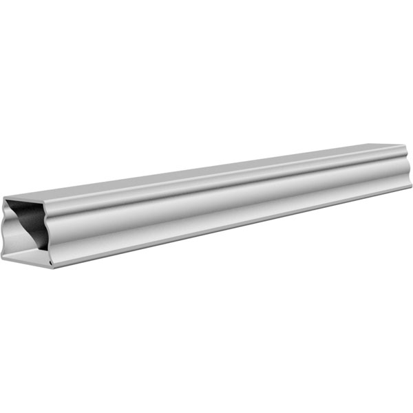 "FiberThane Balustrade Bottom Rail: 7""W - Price per Foot"