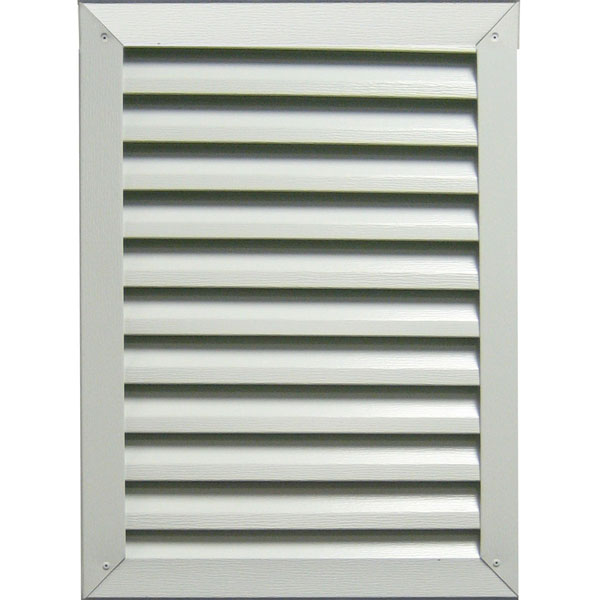 Rectangle Aluminum Gable Vent Louver