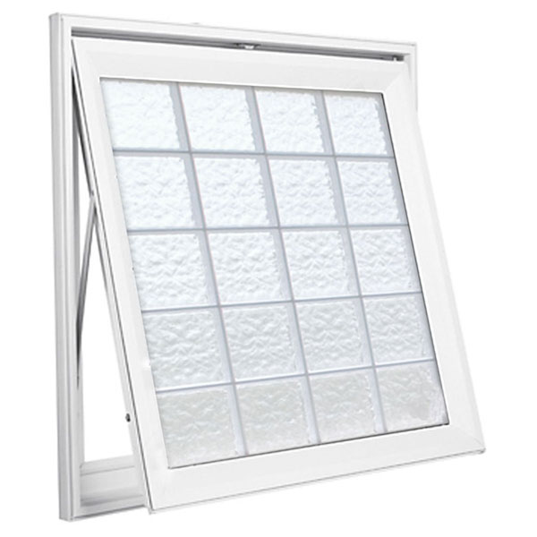 "Design Series Awning Windows - 8"" x 8"" x 1 1/2"" Blocks"