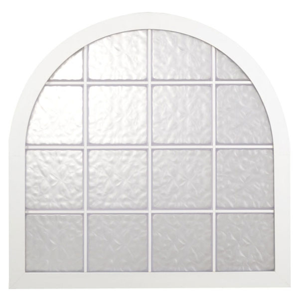 Hy lite 8rt03 design series fixed round top windows 8 inch for Round top windows