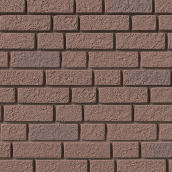 "10"" x 62""L Brick Panel (12 Panels/Ctn. = 50 Sq. Feet)"