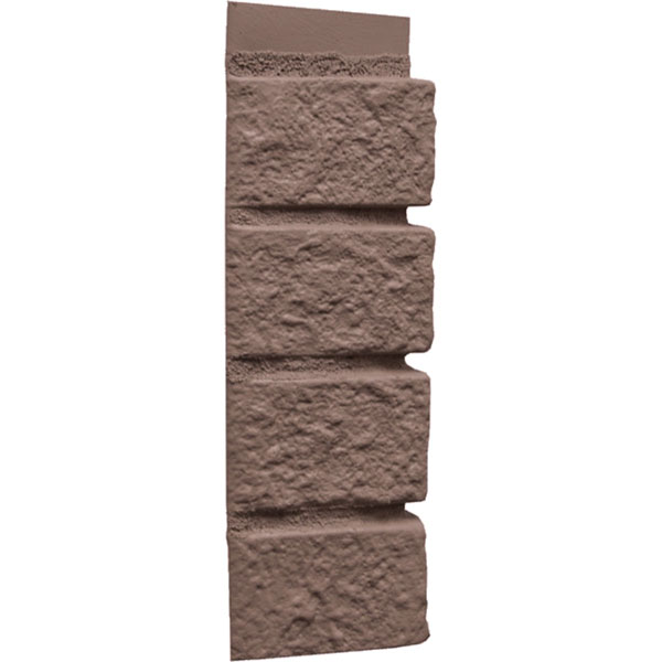 "10"" x 60""L Brick Panel Corner, (4 Pieces/Ctn. = 20 Ln. Feet)"