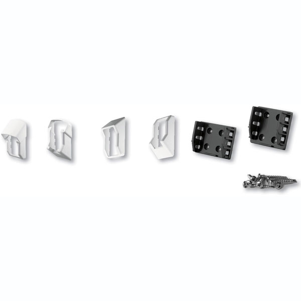 Stair QuickRail Bracket Kit (For use w/ QuickRail Stair Rail Kits), White