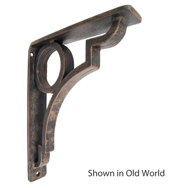 "1 1/2""W X 10""D x 12""H Grant Wrought Iron Bracket"