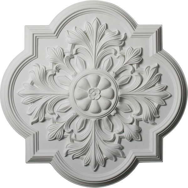 "20""OD x 1 3/4""P Bonetti Ceiling Medallion (Fits Canopies up to 5 1/8"")"