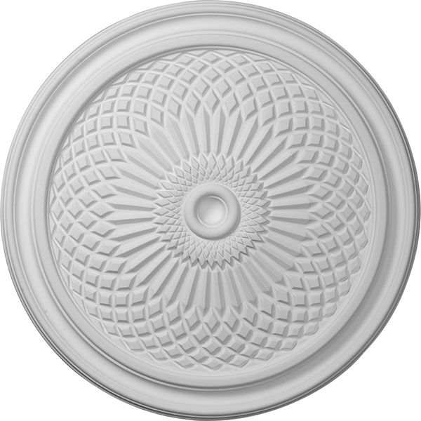 "22""OD x 1 3/4""P Trinity Ceiling Medallion (Fits Canopies up to 3"")"
