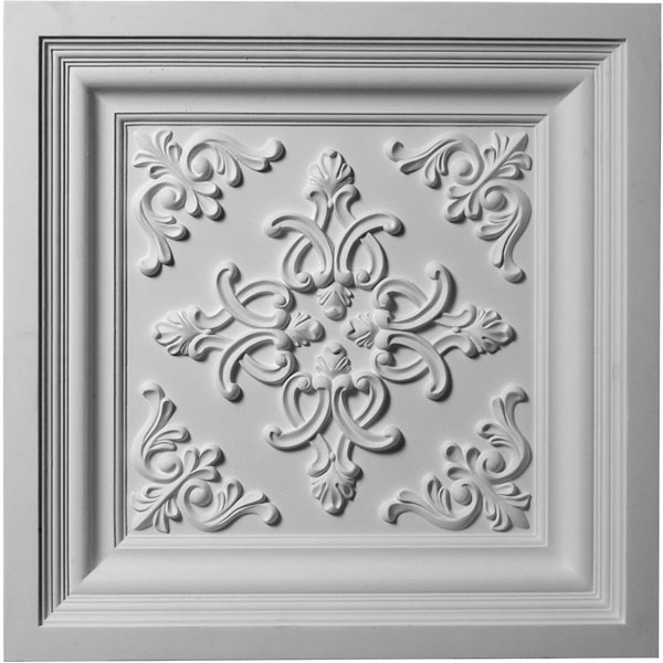 "24""W x 24""H x 2 3/8""P Kinsley Ceiling Tile"