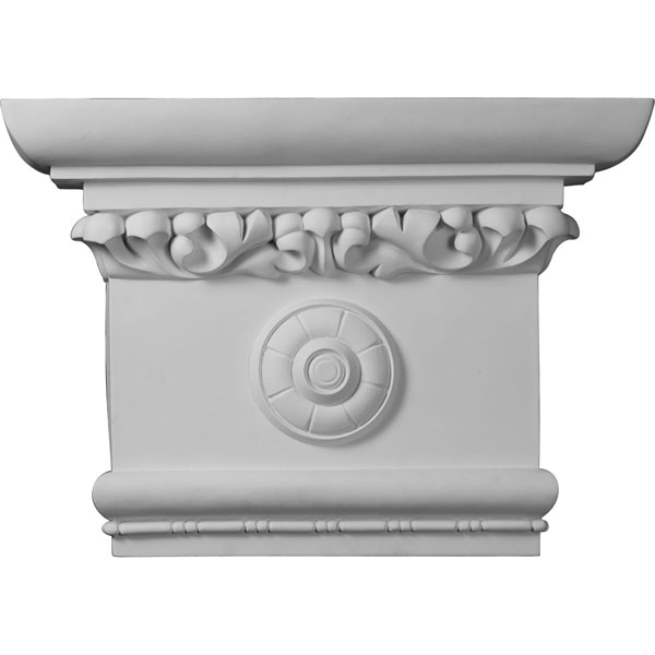 "24""W x 16 1/2""H x 6""P Victorian Capital (Fits Pilasters up to 16""W x 2 1/8""D)"