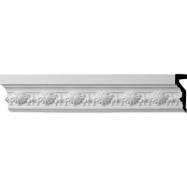 "4 1/4""H x 1 1/4""P x 94 1/2""L (3 1/4"" Repeat) Small Swag Panel Moulding"