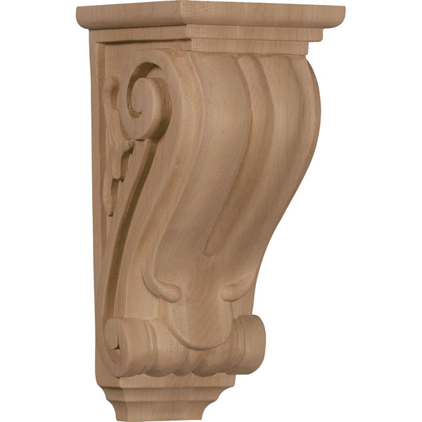 "4 1/2""W x 5""D x 10""H Medium Classical Corbel"