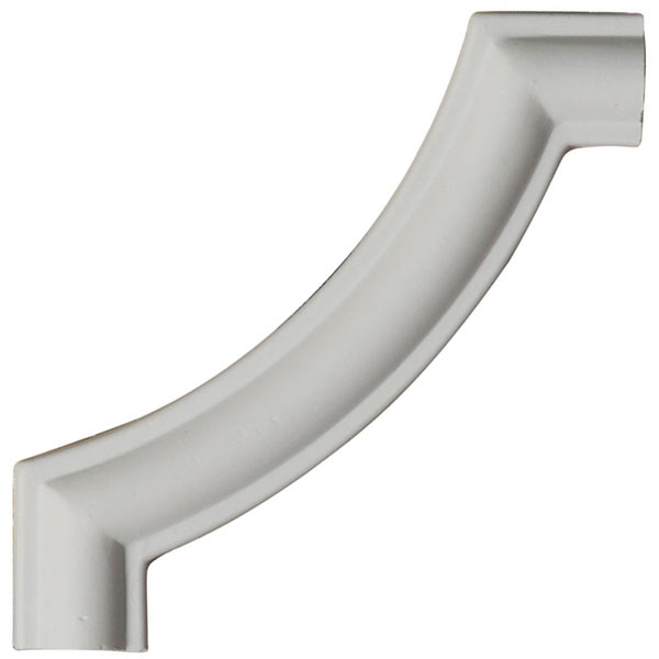 """4""""W x 4""""H x 3/8""""P Traditional Panel Moulding Corner (matches moulding PML00X00TR)"""