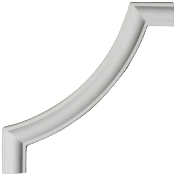 """6""""W x 6""""H x 3/8""""P Traditional Panel Moulding Corner (matches moulding PML00X00TR)"""