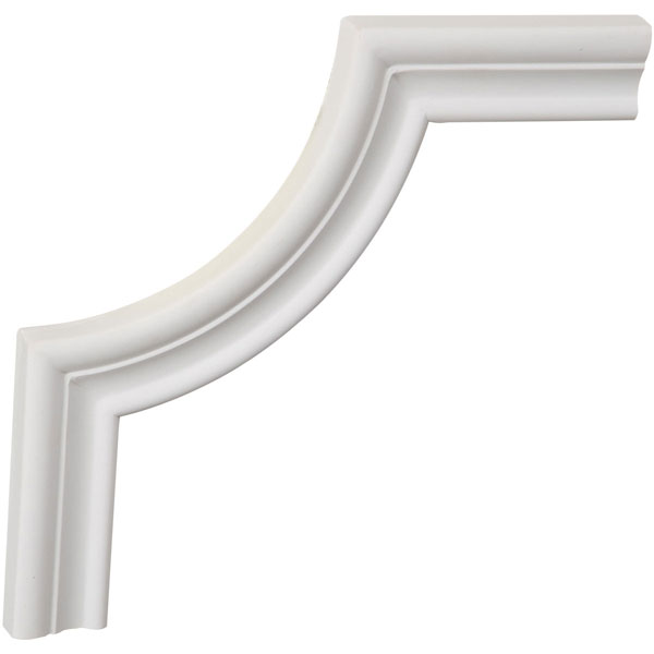 "8""W x 8""H x 5/8""P Stockport Panel Moulding Corner (matches moulding PML01X00ST)"