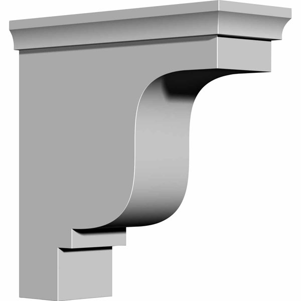 "4 1/8""W x 10 1/2""D x 10 1/2""H Edinburgh Bracket"