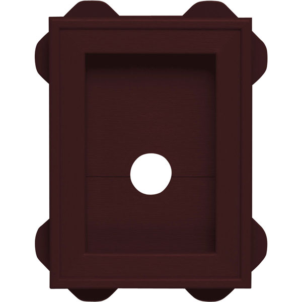 "5""W x 6 3/4""H Split Mini MountMaster Mounting Block, (10/pack)"