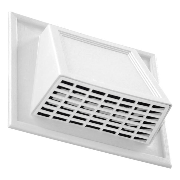 "4"" Hooded Vent for Insulated Siding, (4/pack)"