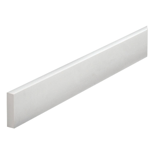 "10""W x 3/4""P, 8' Length Flat Trim Moulding"