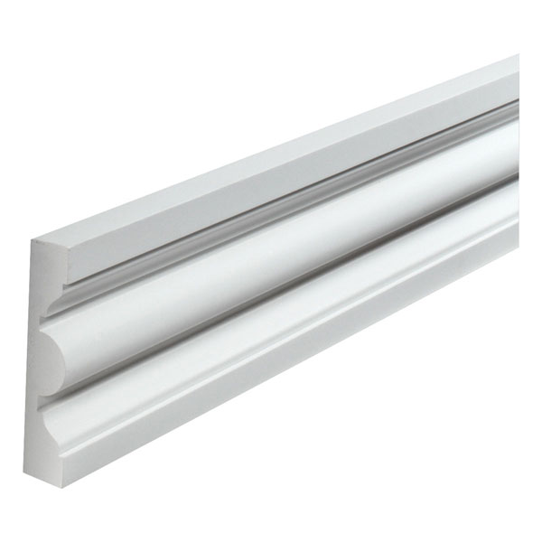 "8 13/16""W x 1 15/16""P, 12' Length,Door/Window Moulding"