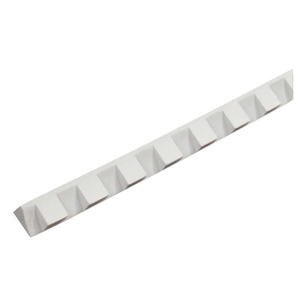 "1 1/4""W x 1 1/4"" Tooth/Space x 5/8""P, 8' Length, Small Dentil Moulding"