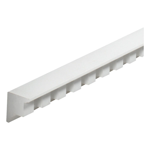 "2 3/8""W x 1""Tooth/Space x 2 1/4""P, 8' Length, Dentil Moulding"