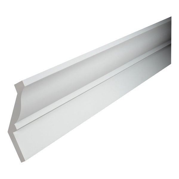 "11""W x 6 1/2""P, 16' Length, Crown Fascia Moulding"
