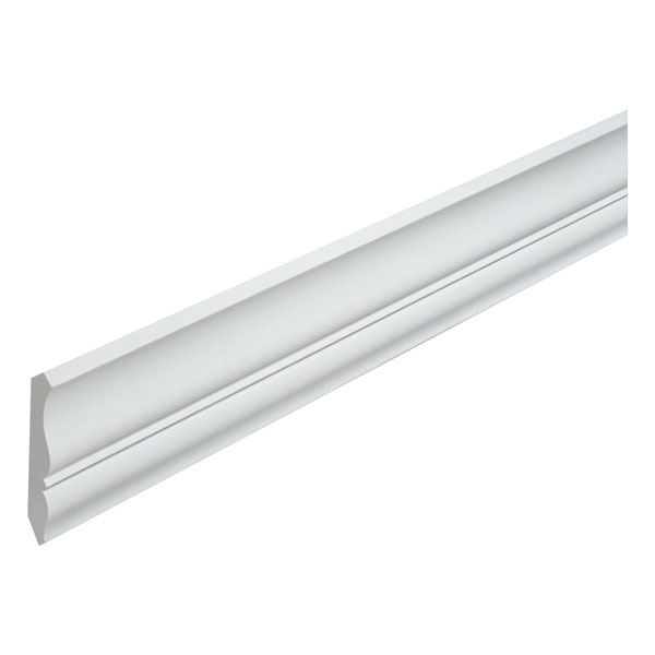 "4 7/16""H x 2 3/4""P, 12' Length, Crown Moulding"